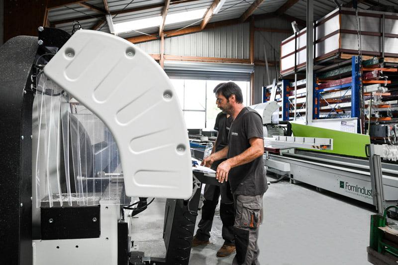 fabricant portails aluminium closura atelier débit profilés La Rochelle France